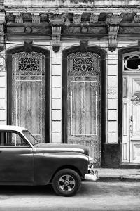 Cuba Fuerte Collection B&W - 813 Street Havana II by Philippe Hugonnard