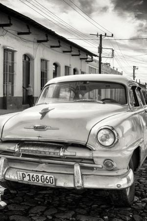 Cuba Fuerte Collection B&W - Plymouth Classic Car III