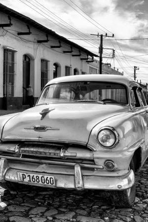 Cuba Fuerte Collection B&W - Plymouth Classic Car IV