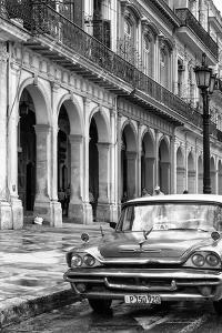 Cuba Fuerte Collection B&W - Vintage Car in Havana IX by Philippe Hugonnard