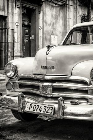 Cuba Fuerte Collection B&W - Vintage Cuban Dodge III