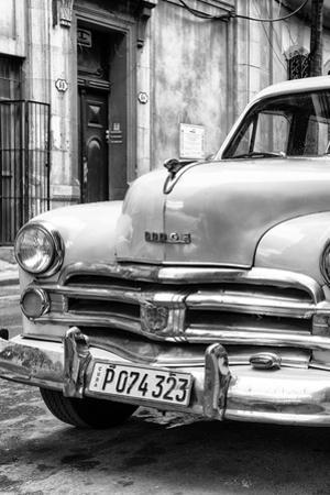 Cuba Fuerte Collection B&W - Vintage Cuban Dodge IV
