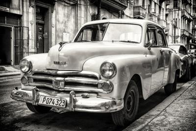 Cuba Fuerte Collection B&W - Vintage Cuban Dodge