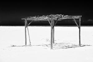 Cuba Fuerte Collection B&W - White Beach VI by Philippe Hugonnard