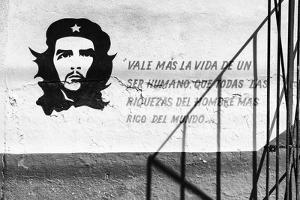 Cuba Fuerte Collection B&W - Word of Che II by Philippe Hugonnard