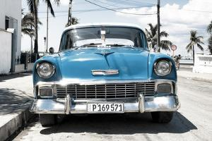 Cuba Fuerte Collection - Blue Chevy by Philippe Hugonnard