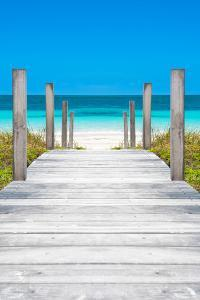 Cuba Fuerte Collection - Boardwalk on the Beach by Philippe Hugonnard