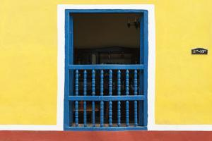 Cuba Fuerte Collection - Colorful Window by Philippe Hugonnard