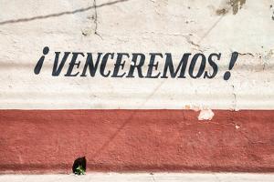 """Cuba Fuerte Collection - Cuban Facade """"Venceremos!"""" by Philippe Hugonnard"""