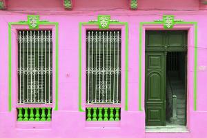 Cuba Fuerte Collection - Havana Pink Façade by Philippe Hugonnard