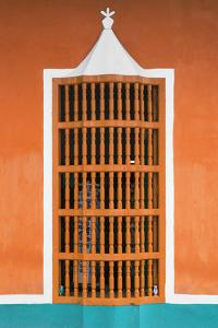 Cuba Fuerte Collection - Orange Window by Philippe Hugonnard