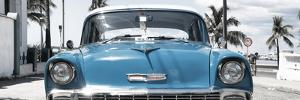 Cuba Fuerte Collection Panoramic - Blue Chevy by Philippe Hugonnard