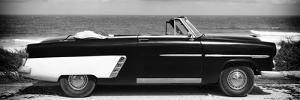 Cuba Fuerte Collection Panoramic BW - Cabriolet Car by Philippe Hugonnard