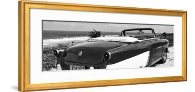 Cuba Fuerte Collection Panoramic BW - Cabriolet Classic Car II