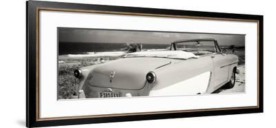 Cuba Fuerte Collection Panoramic BW - Cabriolet Classic Car