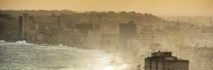 Cuba Fuerte Collection Panoramic - Havana Sunrise III by Philippe Hugonnard