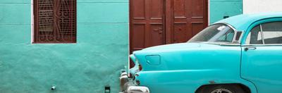 Cuba Fuerte Collection Panoramic - Havana Turquoise Street