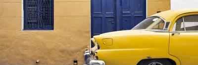 Cuba Fuerte Collection Panoramic - Havana Yellow Street