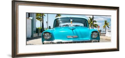 Cuba Fuerte Collection Panoramic - Turquoise Chevy