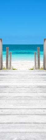 Cuba Fuerte Collection Panoramic - Way to the Beach by Philippe Hugonnard