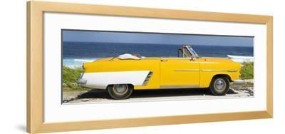 Cuba Fuerte Collection Panoramic - Yellow Cabriolet Car