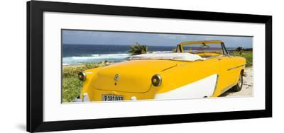 Cuba Fuerte Collection Panoramic - Yellow Cabriolet Classic Car