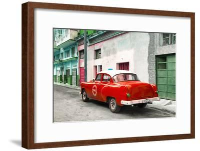 Cuba Fuerte Collection - Red Taxi Pontiac 1953