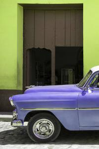 Cuba Fuerte Collection - Retro Mauve Car II by Philippe Hugonnard