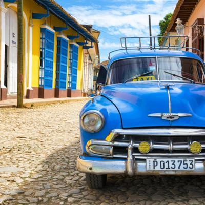 Cuba Fuerte Collection SQ - Blue Taxi in Trinidad