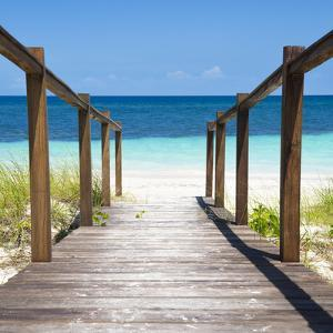 Cuba Fuerte Collection SQ - Boardwalk on the Beach II by Philippe Hugonnard