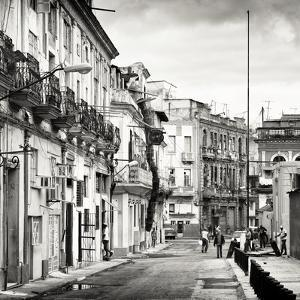 Cuba Fuerte Collection SQ BW - Architecture of Havana by Philippe Hugonnard