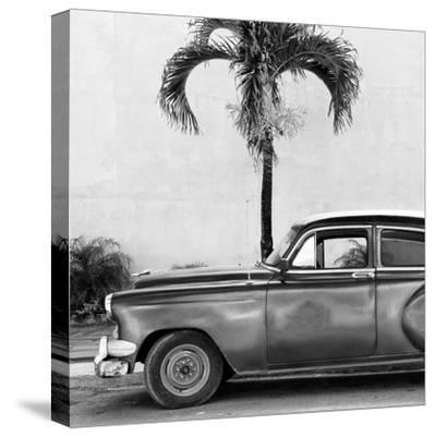 Cuba Fuerte Collection SQ BW - Beautiful Retro Black Car