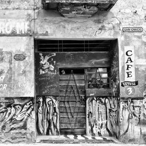Cuba Fuerte Collection SQ BW - Cafe Express Havana by Philippe Hugonnard