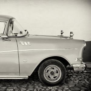 Cuba Fuerte Collection SQ BW - Close-up of Retro Car by Philippe Hugonnard