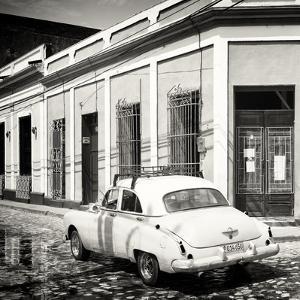 Cuba Fuerte Collection SQ BW - Cuban Street Scene by Philippe Hugonnard
