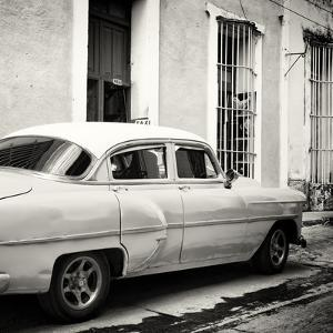 Cuba Fuerte Collection SQ BW - Cuban Taxi by Philippe Hugonnard