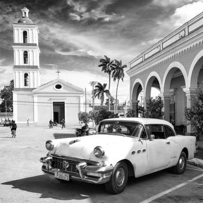 Cuba Fuerte Collection SQ BW - Main square of Santa Clara II by Philippe Hugonnard