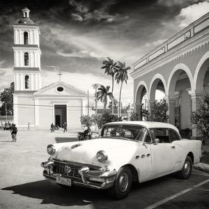 Cuba Fuerte Collection SQ BW - Main square of Santa Clara by Philippe Hugonnard