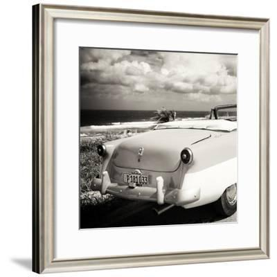 Cuba Fuerte Collection SQ BW - Old Classic Car Cabriolet
