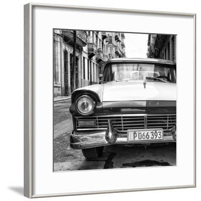 Cuba Fuerte Collection SQ BW - Old Ford Car II