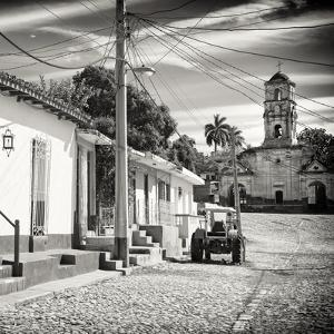 Cuba Fuerte Collection SQ BW - Quiet Street in Trinidad by Philippe Hugonnard