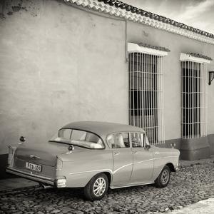 Cuba Fuerte Collection SQ BW - Retro Car in Trinidad by Philippe Hugonnard