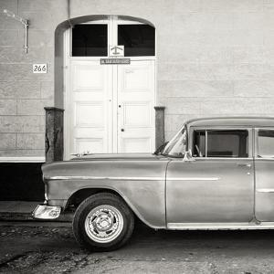 Cuba Fuerte Collection SQ BW - Retro Classic Car Trinidad by Philippe Hugonnard