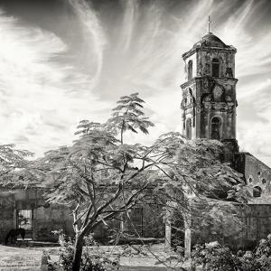 Cuba Fuerte Collection SQ BW - Santa Ana Church in Trinidad by Philippe Hugonnard