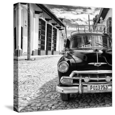 Cuba Fuerte Collection SQ BW - Taxi in Trinidad II