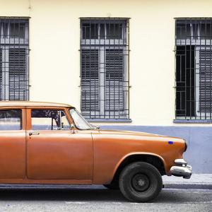 Cuba Fuerte Collection SQ - Close-up of Orange Car by Philippe Hugonnard