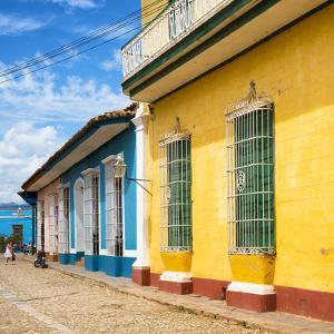 Cuba Fuerte Collection SQ - Colorful Facades in Trinidad by Philippe Hugonnard
