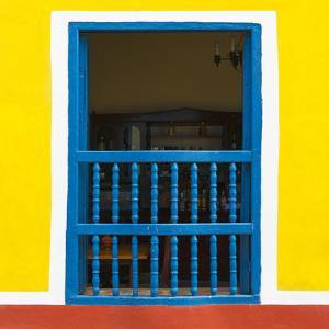 Cuba Fuerte Collection SQ - Colorful Window by Philippe Hugonnard