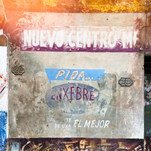 Cuba Fuerte Collection SQ - Cuban Street Advertising by Philippe Hugonnard