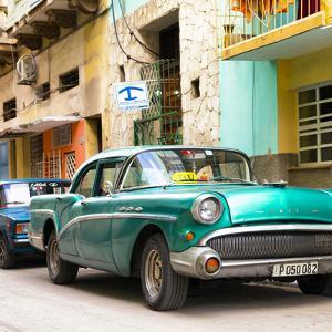 Cuba Fuerte Collection SQ - Cuban Taxi to Havana II by Philippe Hugonnard